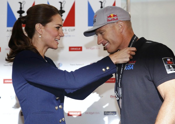The Duke and Duchess of Cambridge Attend the America's Cup World Series