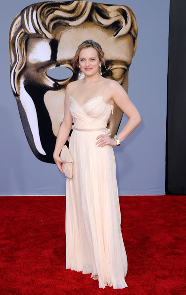 Actress Elisabeth Moss arrives at the BAFTA Brits To Watch event held at the Belasco Theatre on July 9, 2011 in Los Angeles, California.