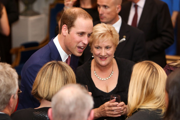 Prince William, Duke of Cambridge speaks to guests during a state reception at Government House on April 10, 2014 in Wellington, New Zealand. The Duke and Duchess of Cambridge are on a three-week tour of Australia and New Zealand, the first official trip overseas with their son, Prince George of Cambridge.