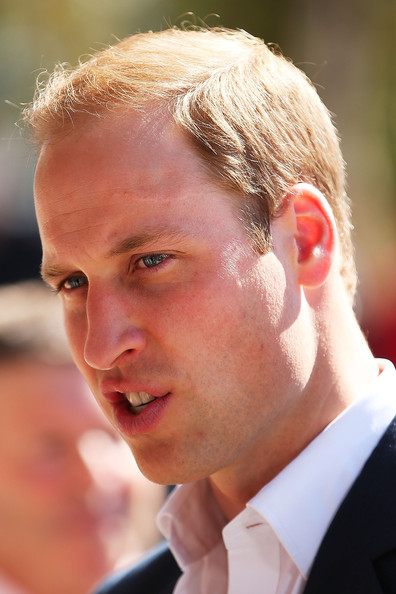 Prince William, Duke of Cambridge arrives at the Winmalee Guide Hall on April 17, 2014 in Winmalee, Australia. The Duke and Duchess of Cambridge are on a three-week tour of Australia and New Zealand, the first official trip overseas with their son, Prince George of Cambridge.