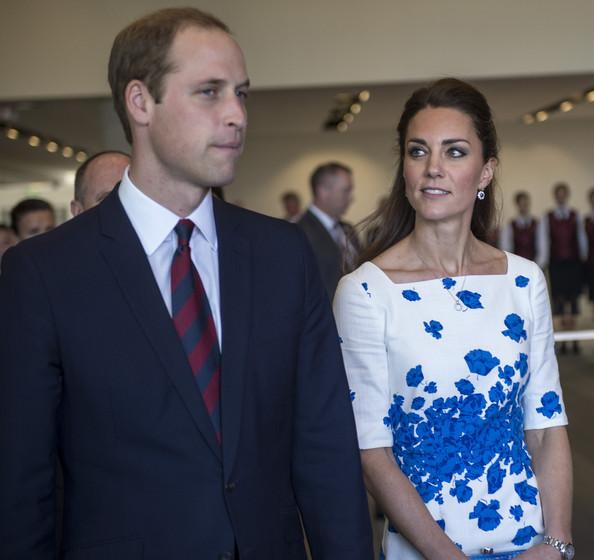 Catherine, Duchess of Cambridge and Prince William, Duke of Cambridge attend walkabout on April 19, 2014 in Brisbane, Australia. The Duke and Duchess of Cambridge are on a three-week tour of Australia and New Zealand.