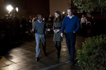 Seyi Obakin The Duke And Duchess Of Cambridge Visit Centrepoint