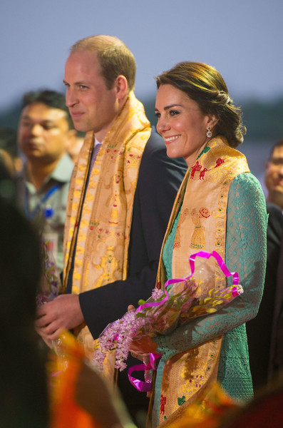 The Duke & Duchess of Cambridge Visit India & Bhutan - Day 3
