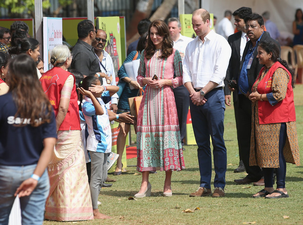 The Duke & Duchess of Cambridge Visit India & Bhutan - Day 1
