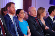 Meghan, Duchess of Sussex, Prince Harry, Duke of Sussex and Ross Kemp attend the annual Endeavour Fund Awards at Mansion House on March 5, 2020 in London, England. Their Royal Highnesses will celebrate the achievements of wounded, injured and sick servicemen and women who have taken part in remarkable sporting and adventure challenges over the last year.