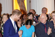 Prince Harry, Duke of Sussex and Meghan, Duchess of Sussex next to Ross Kemp as they attend the annual Endeavour Fund Awards at Mansion House on March 5, 2020 in London, England. Their Royal Highnesses will celebrate the achievements of wounded, injured and sick servicemen and women who have taken part in remarkable sporting and adventure challenges over the last year.
