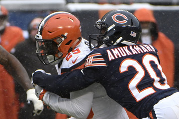 Duke Johnson Cleveland Browns v Chicago Bears