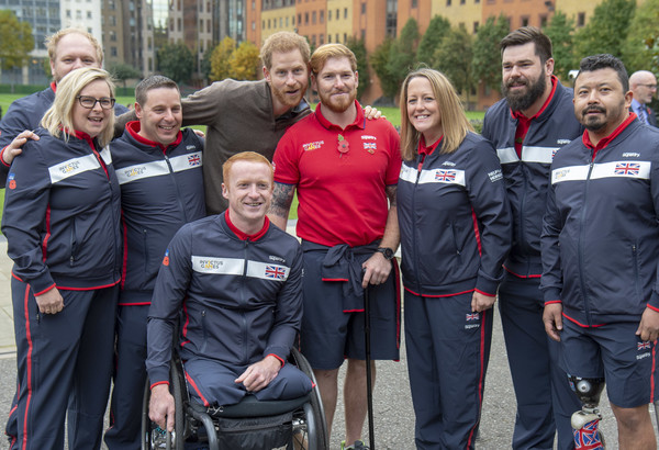 Invictus Games 2020.Prince Harry The Duke Of Sussex Attends The Launch Of Team