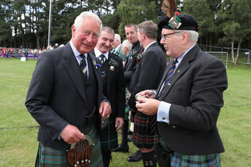 Duke of Rothesay The Duke Of Rothesay Attends The Ballater Highland Games