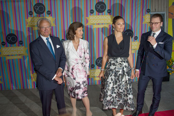 Duke of Vastergotland Swedish Royals Attend Radio Sweden's 90th Anniversary Celebrations