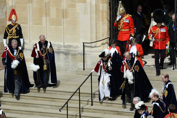 Duke of York Prince Charles Service of the Order of the Garter