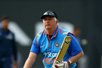 Duncan Fletcher England v India - Royal London One-Day Series 2014