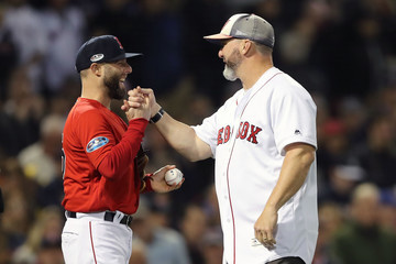 Dustin Pedroia Divisional Round - New York Yankees vs. Boston Red Sox - Game One