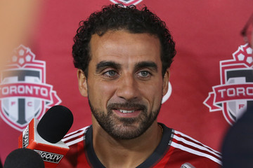 Dwayne De Rosario Toronto FC Media Day