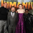 Dwayne Johnson 'Jumanji : Next Level': Photocall At Le Grand Rex In Paris