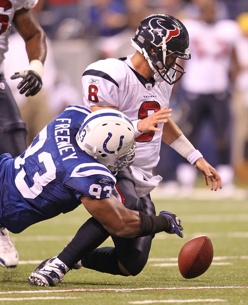 Dwight Freeney - Houston Texans v Indianapolis Colts