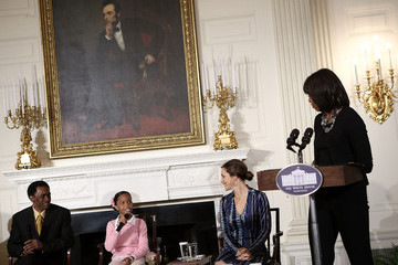 Dwight Henry First Lady Michelle Obama Hosts School Children And The Cast From Beasts Of The Southern Wild