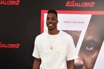 Dwight Howard Premiere Of Columbia Pictures' 'Equalizer 2' - Arrivals