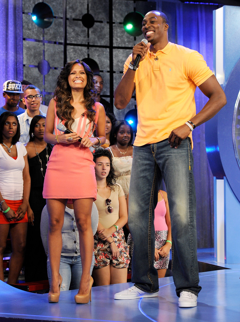 Rocsi Photos Photos Dwight Howard Visits Bet S Quot 106