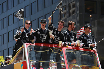 Dwight King Los Angeles Kings Victory Parade and Rally