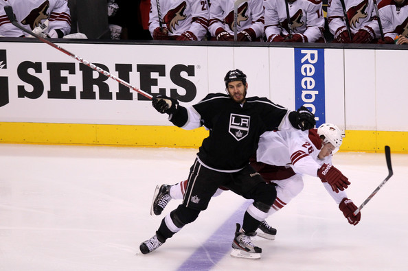Dwight King - Phoenix Coyotes v Los Angeles Kings - Game Three