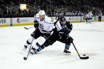 Dwight King Los Angeles Kings v San Jose Sharks
