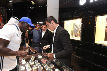 Dwight Yorke TAG Heuer Manchester United: Dubai Mall