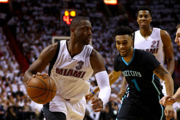 Dwyane Wade Charlotte Hornets v Miami Heat - Game Five