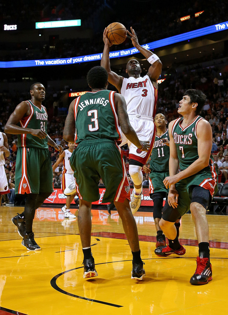 Dwyane+Wade+Milwaukee+Bucks+v+Miami+Heat