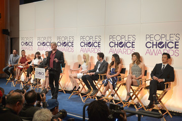 Dylan McDermott People's Choice Awards Nominations Press Conference