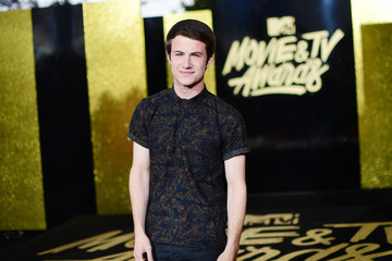Dylan Minnette 2017 MTV Movie and TV Awards - Red Carpet