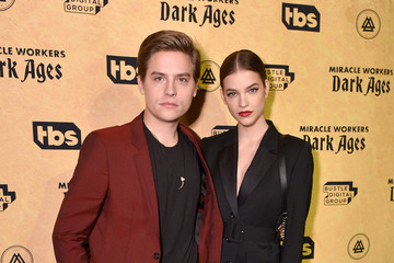 """Dylan Sprouse Barbara Palvin """"Miracle Workers: Dark Ages"""" Premiere And MEADia Event"""
