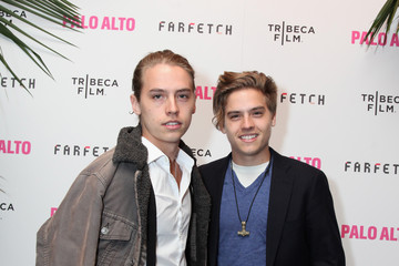 Dylan Sprouse Cole Sprouse 2014 Tribeca Film Festival After Party Of Gia Coppola's Palo Alto, Hosted By Farfetch At Up&Down