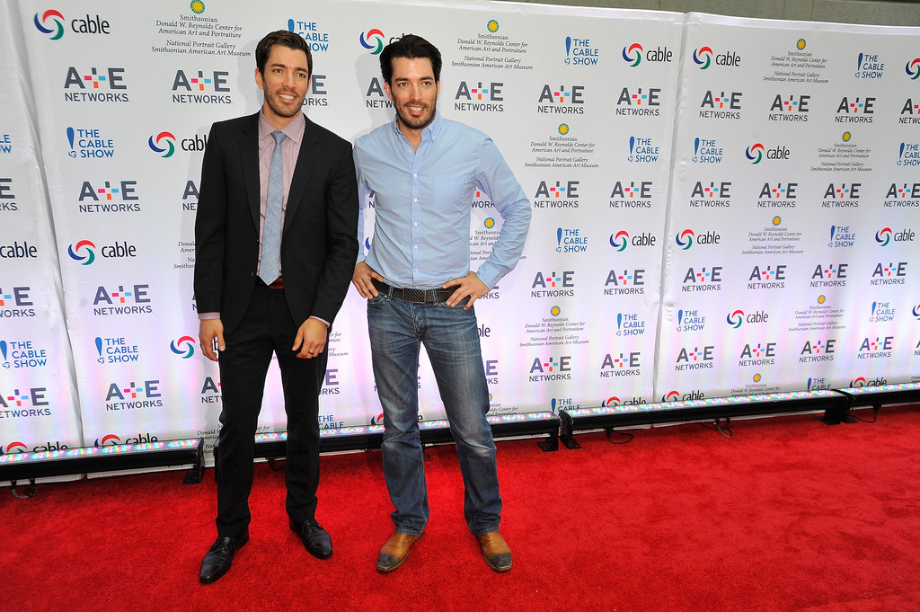 drew scott photos photos arrivals at the ncta reception in washington dc zimbio - Drew Scott