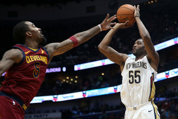 E'Twaun Moore Cleveland Cavaliers v New Orleans Pelicans