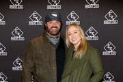 Randy Houser (L) and Tatiana Houser attend the grand opening of E3 Chophouse Nashville on November 20, 2019 in Nashville, Tennessee.