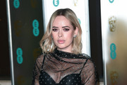 Tanya Burr attends the EE British Academy Film Awards Gala Dinner at Grosvenor House on February 10, 2019 in London, England.