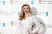 Natalie Dormer attends The EE British Academy Film Award, BAFTA, nominations announcement at BAFTA on January 9, 2018 in London, England.
