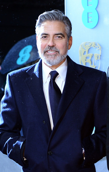 George Clooney attends the EE British Academy Film Awards at The Royal Opera House on February 10, 2013 in London, England.