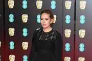 Tanya Burr attends the EE British Academy Film Awards (BAFTA) held at Royal Albert Hall on February 18, 2018 in London, England.
