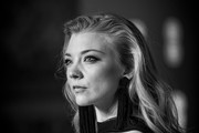 This image has been digitally altered) Natalie Dormer attends the EE British Academy Film Awards (BAFTA) held at Royal Albert Hall on February 18, 2018 in London, England.