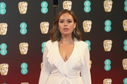 Tanya Burr attends the 70th EE British Academy Film Awards (BAFTA) at Royal Albert Hall on February 12, 2017 in London, England.