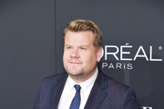 James Corden attends ELLE's 25th Annual Women In Hollywood Celebration presented by L'Oreal Paris, Hearts On Fire and CALVIN KLEIN at Four Seasons Hotel Los Angeles at Beverly Hills on October 15, 2018 in Los Angeles, California.