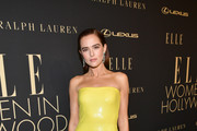 Zoey Deutch attends ELLE's 26th Annual Women In Hollywood Celebration Presented By Ralph Lauren And Lexus at The Four Seasons Hotel Los Angeles on October 14, 2019 in Beverly Hills, California.