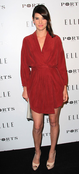 Actress Cobie Smulders attends ELLE's Inaugural Women in Television Celebratory Dinner at the Soho House on January 27, 2011 in West Hollywood, California.