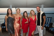 Lauren Kucik, Lilly Sisto and Katelyn Sevilla, Mary Alice Haney and Paul Rodgers attend the HANEY's Fifth Year Anniversary Celebration on August 24, 2018 in Sag Harbor, New York.