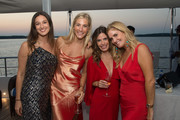 Lauren Kucik, Lilly Sisto, Katelyn Sevilla and Mary Alice Haney attend the HANEY's Fifth Year Anniversary Celebration on August 24, 2018 in Sag Harbor, New York.