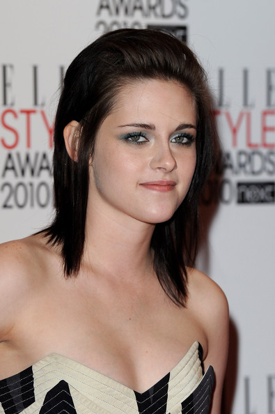 Actress Kristen Stewart arrives at The ELLE Style Awards 2010 at the Grand Connaught Rooms on February 22, 2010 in London, England.