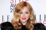 TV Presenter Fearne Cotton attends the 2011 ELLE Style Awards at the Grand Connaught Rooms on February 14, 2011 in London, England.