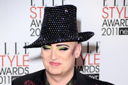 Musician Boy George attends the 2011 ELLE Style Awards at the Grand Connaught Rooms on February 14, 2011 in London, England.